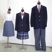 結城第二高等学校制服画像